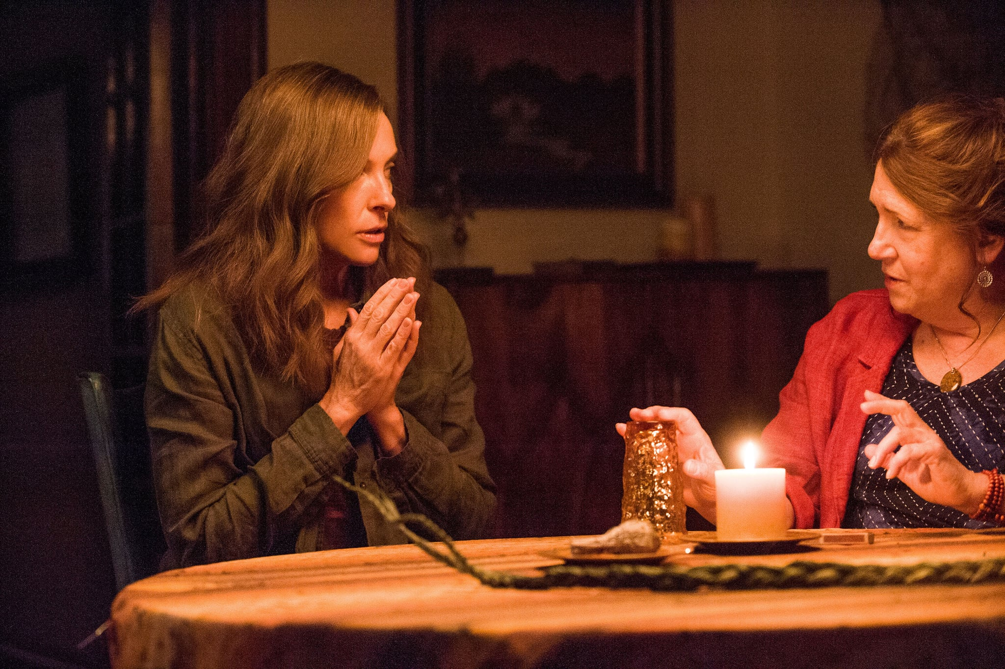 HEREDITARY From Left Toni Collette Ann Dowd 2018 Ph Reid