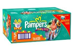And the Winner of the Pampers Giveaway Is...