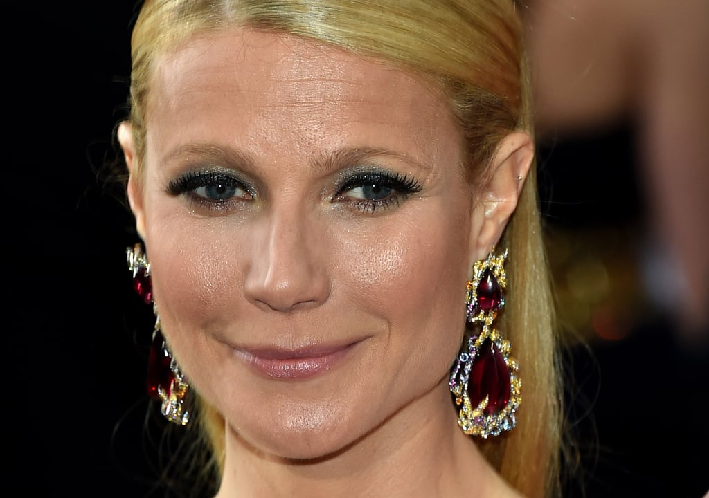 Gwyneth Paltrow's Anna Hu Earrings in 2015