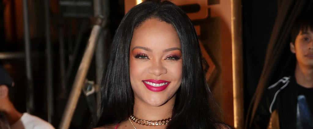 Rihanna's Fringe Haircut at Paris Fashion Week