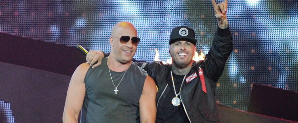 It's True! Vin Diesel Performed With Nicky Jam at the Premios Billboard