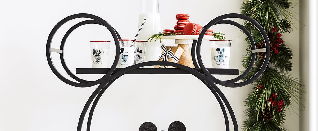 Shop Pottery Barn's Mickey-Shaped Bar Cart