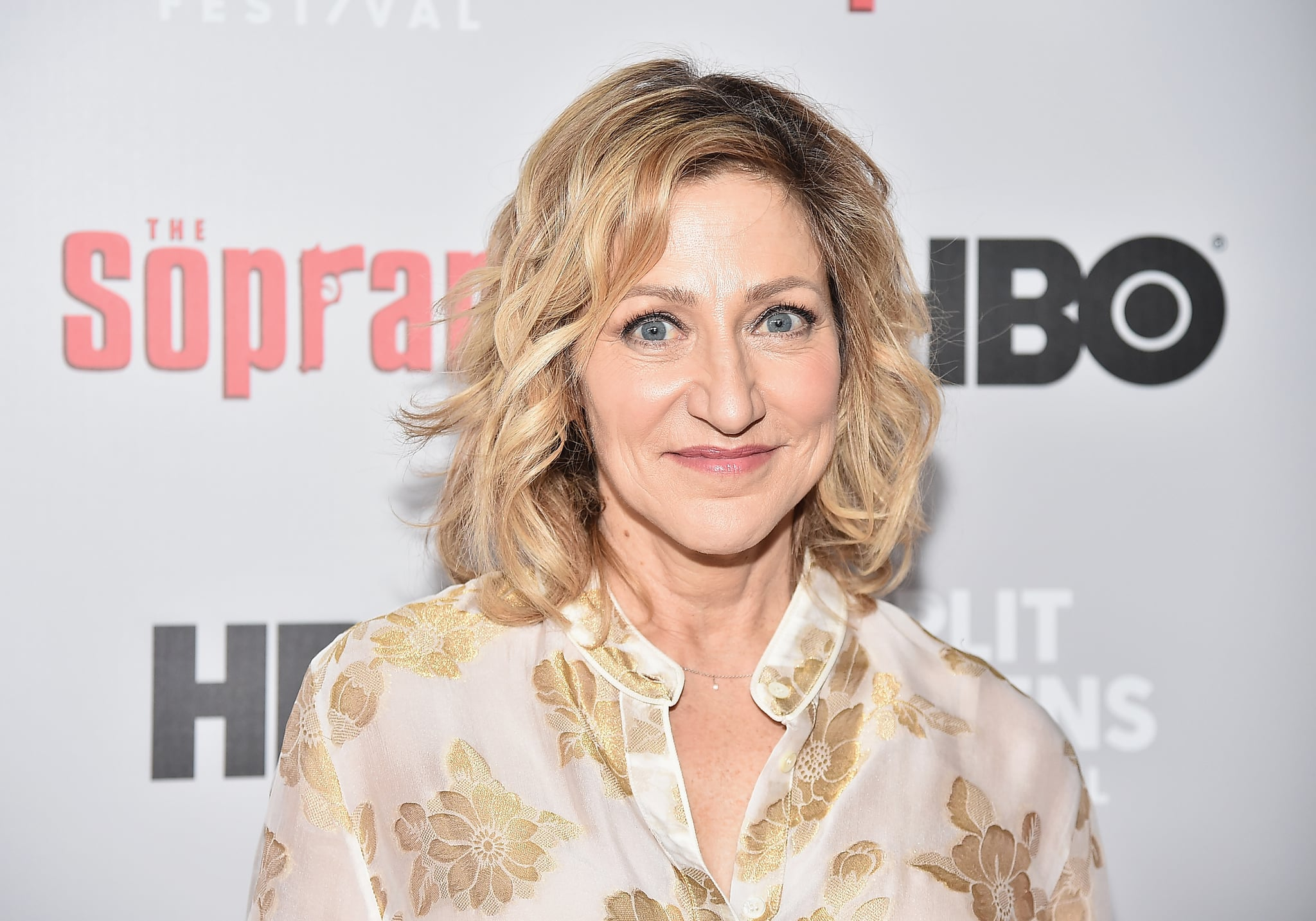 NEW YORK, NEW YORK - JANUARY 09: Edie Falco attends the