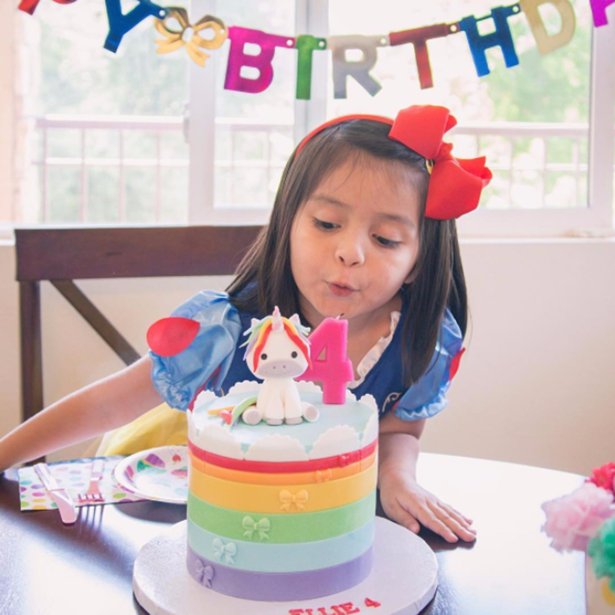Unicorn Birthday Cakes For Kids Popsugar Moms