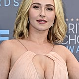 Hayden Panettiere Hair at the 2016 Critics' Choice Awards