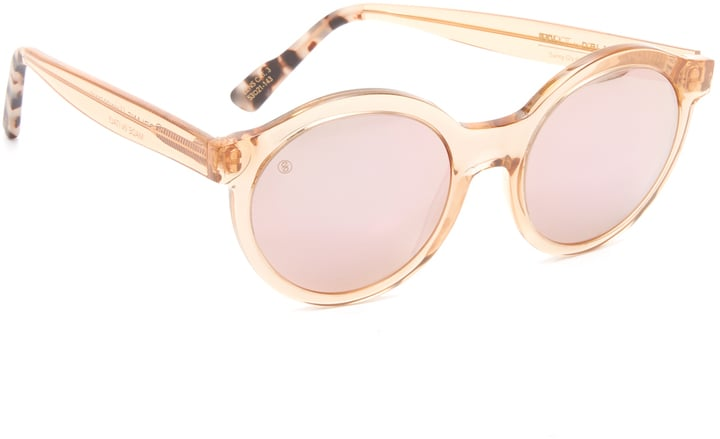 Beach Riot For D'Blanc Minor Panic Mirrored Sunglasses ($160)