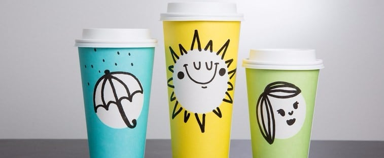 Starbucks Introduces a Spring Version of Its Holiday Cups