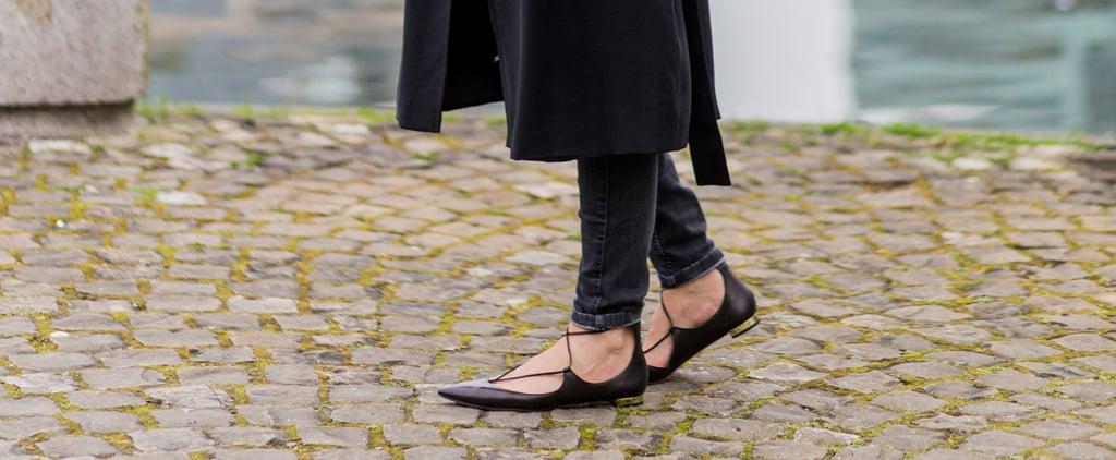 27 إطلالة أبرزت فيها الأحذية المسطّحة أناقة عصريّة آسرة فاقت في سحرها أحذية الكعوب العالية