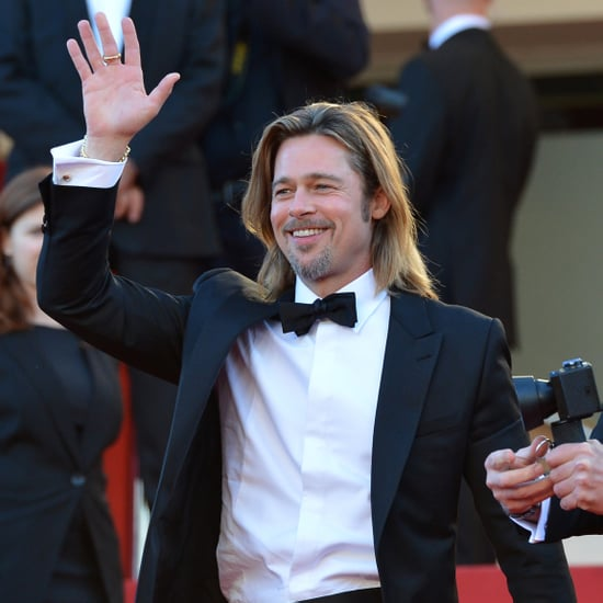 Brad Pitt Tuxedo Pictures at Killing Them Softly Cannes