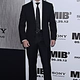 Pitbull celebrated the Men in Black III premiere in NYC.