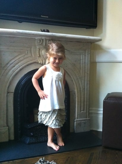 Darling Crewcut Outfit For Little Girls