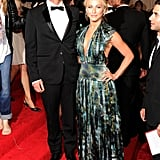 Ryan Seacrest and Julianne Hough Couple Up in Burberry For Met Gala Red Carpet