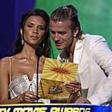 2003: Victoria and David Beckham