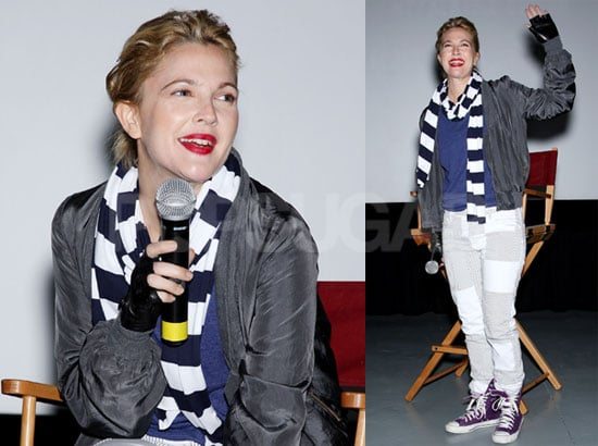 Photos of Drew Barrymore in NYC at a Screening For Whip It