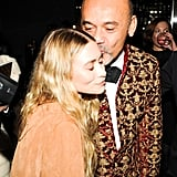But Christian Louboutin and Ashley Olsen's Smooch Is Just as Cute