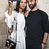 Pictured: Nina Dobrev and Nicolas Ghesquière