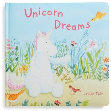 Jellycat Unicorn Dreams Board Book