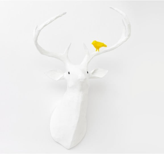 Dwell Studio Deer Papier-Maché Head