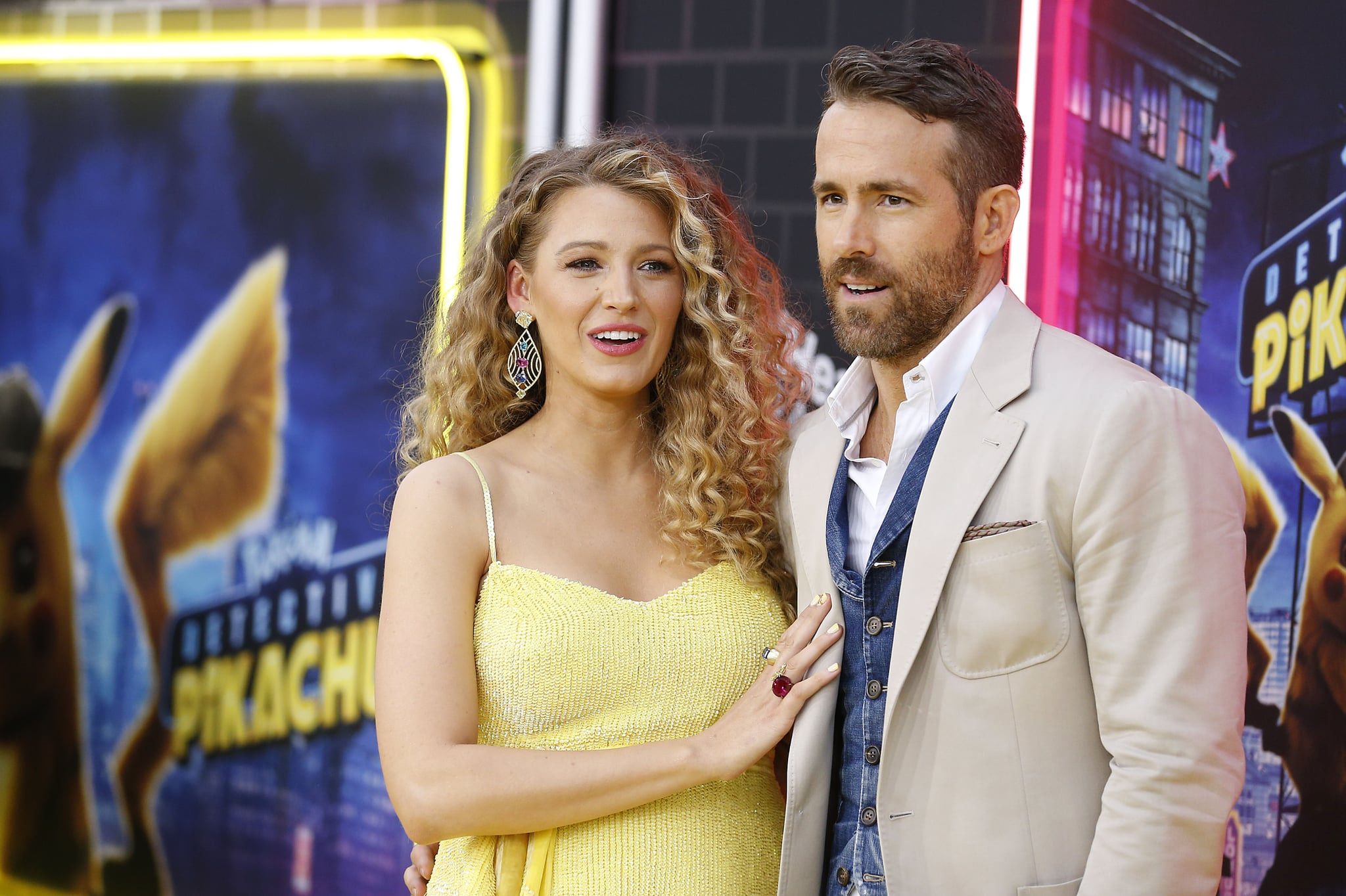 NEW YORK, NEW YORK - MAY 02:   Ryan Reynolds and Blake Lively attend