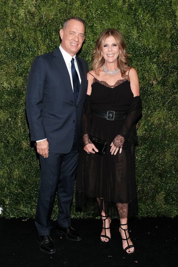 Tom Hanks hit the red carpet with Rita Wilson at the Museum of Modern Art Film Benefit in NYC on Tuesday night. The longtime couple looked exceptional as they posed for pictures together and smiled for the cameras. It was an especially big night for Tom, who was honored with a film series of his work at the museum for his accomplishments in the film industry. He now joins the ranks of past honorees including Cate Blanchett, Quentin Tarantino, and Tim Burton. Tom recently starred in Sully and Inferno, while Rita appeared in September's Brother Nature alongside Bobby Moynihan and Taran Killam.       Related:                                                                                                           70 Pictures That'll Make You Appreciate Tom Hanks and Rita Wilson's 3-Decades-Long Relationship