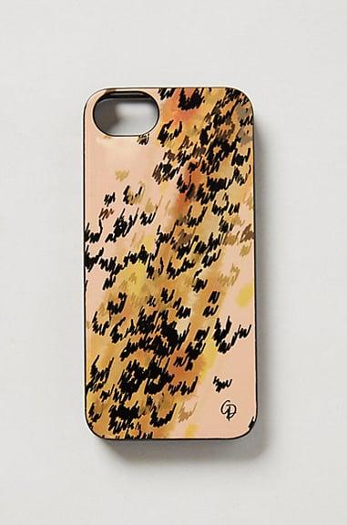 Anthropologie Leopard-Print iPhone 5 Case