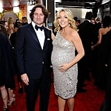 Jane Krakowski Bedazzles Her Baby Bump For the SAGs!
