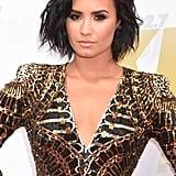Demi Lovato's Balmain Dress at Wango Tango 2016