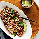 Peanut Slaw With Soba Noodles