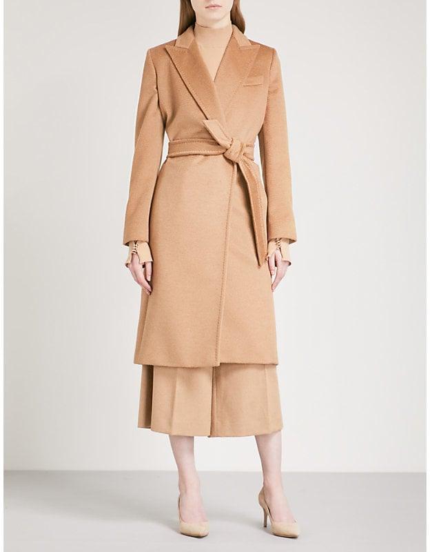 Max Mara Seoul Camel Coat Angelina Jolie S Camel Coat