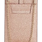 Kate Spade New York Glitter Leather iPhone Crossbody Case