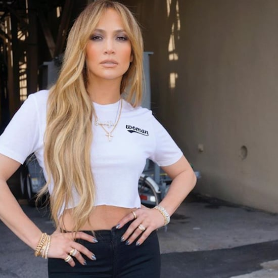 "Jennifer Lopez's ""Woman"" T-Shirt"