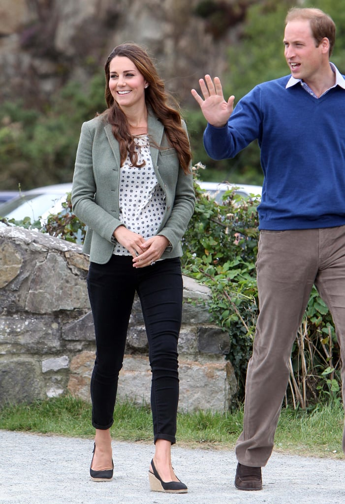 Prince Auto Sales >> Kate Wearing Jeans and Heels at the Ring O Fire Ultra Marathon, 2013 | Kate Middleton Wearing ...