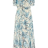 Layer this gorgeous printed maxi dress with a denim jacket and chunky scarf once the leaves start falling. Collette by Collette Dinnigan Printed Pussy-Bow Silk Maxi Dress ($400)
