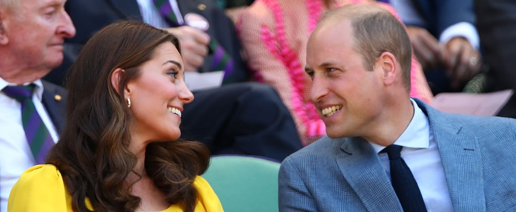 Prince William Getting George and Charlotte to Play Tennis