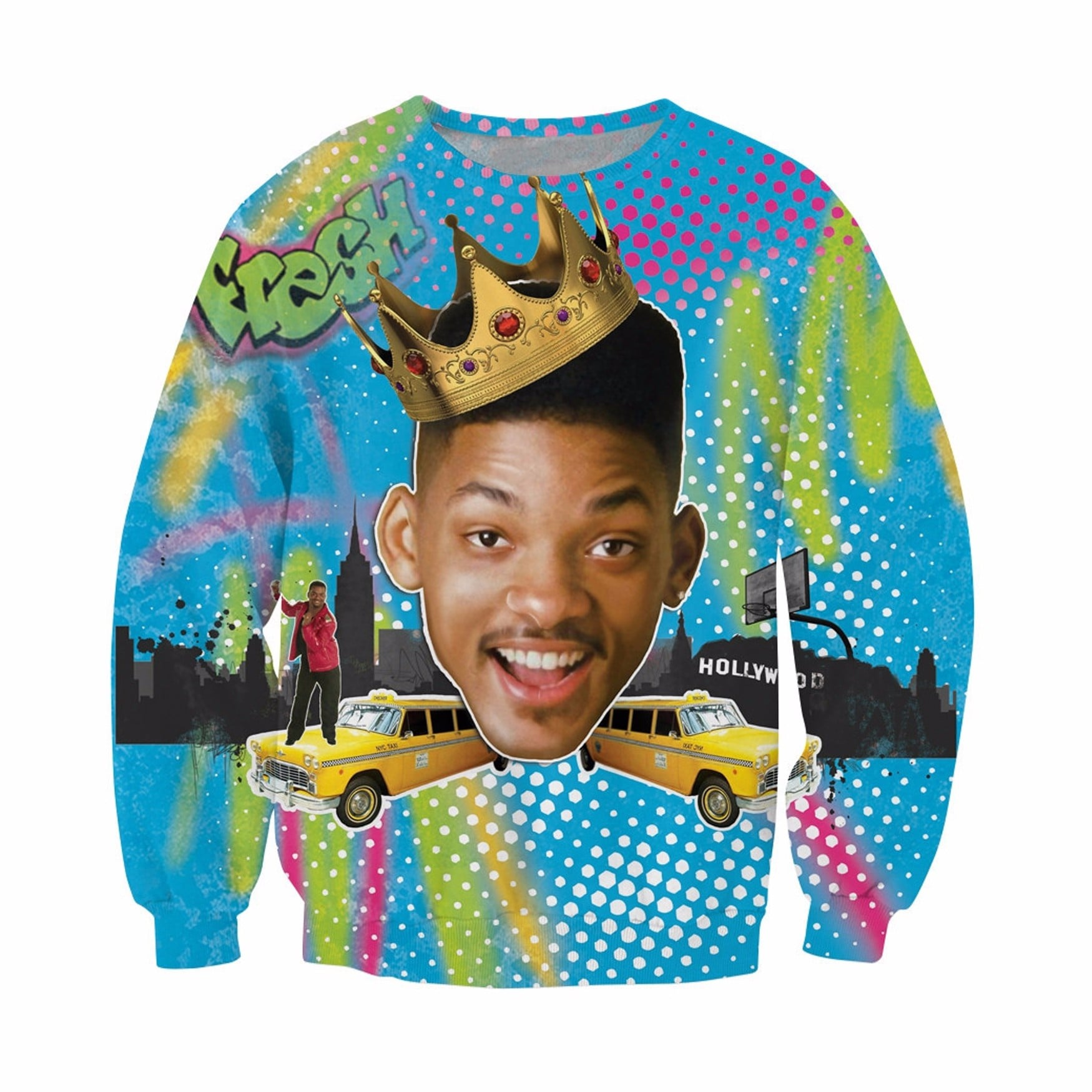 fresh prince of bel air ugly christmas sweaters popsugar entertainment