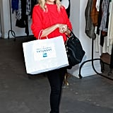 Nicole Richie did some shopping in LA.