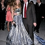 This Nina Ricci silver sorceress gown was heavenly, she wore it to the Sex and the City movie New York premiere in '08.