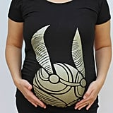 Golden Snitch Maternity Shirt