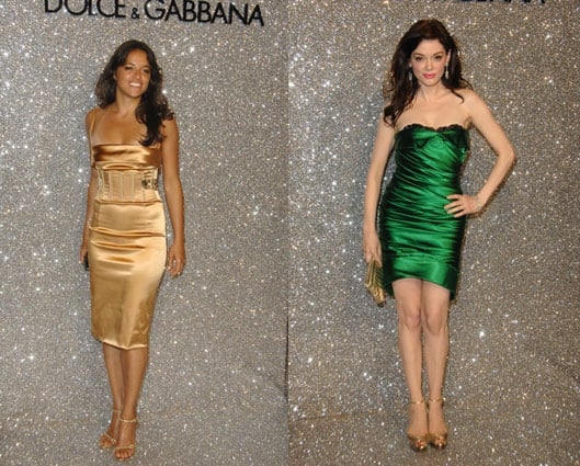 Battle of the Dolce & Gabbana: Rodriguez vs. McGowan