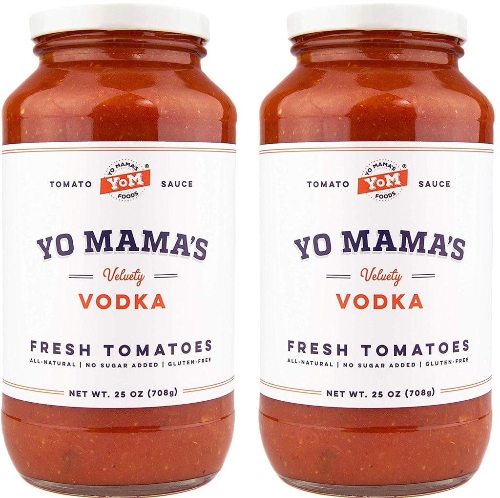 Yo Mama's Gourmet Vodka Pasta Sauce
