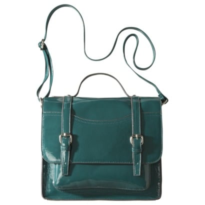 This satchel is a steal, and the teal color is perfect for Fall. Mossimo Supply Co. Large Lady Satchel ($30)