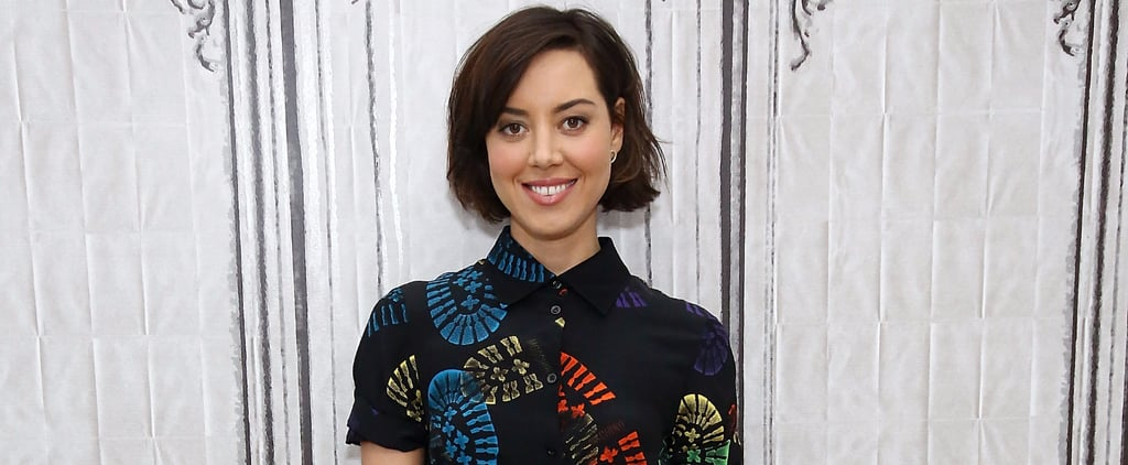 There's Only 1 Way to Describe Aubrey Plaza's Moschino Dress — Fun!