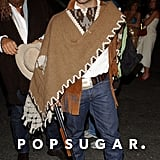 Jeremy Piven went for a Wild West look at Heidi Klum and Seal's 2006 bash.