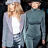Bella Hadid's Brown Hair Color at Paris Fashion Week