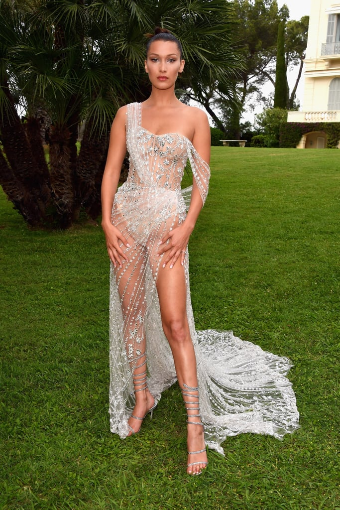 Bella Hadid Wore Custom Ralph & Russo Couture to Cannes