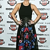 Jessica Simpson shared some words of wisdom at Teen Vogue's 10th annual Fashion University.
