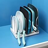 YouCopia StoreMore Cookware Rack Adjustable Pan Organizer