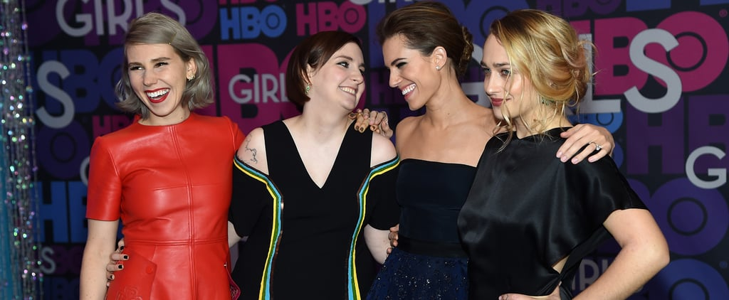 Lena Dunham at the Girls Season Four Premiere 2015
