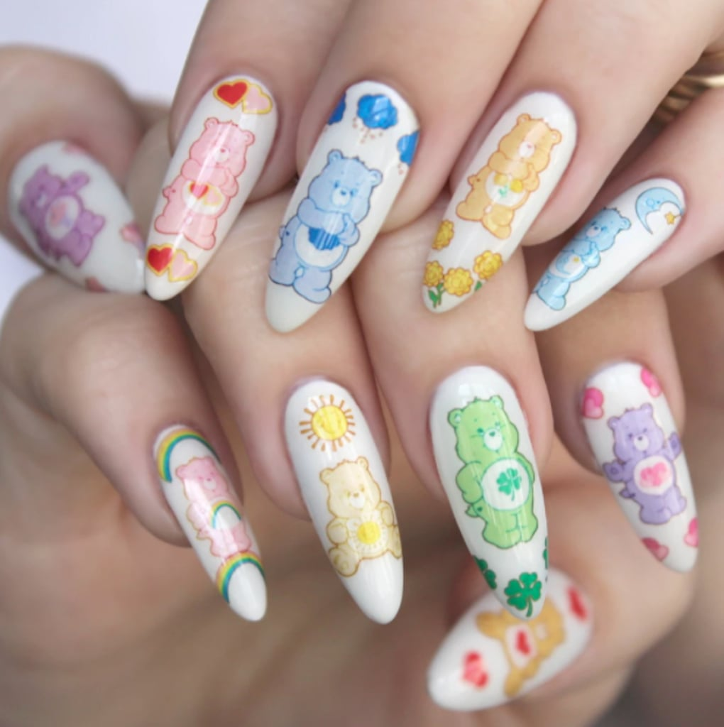 Care Bear Nail Decals | POPSUGAR Beauty