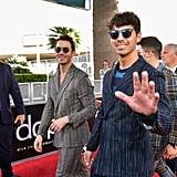 Kevin Jonas and Joe Jonas